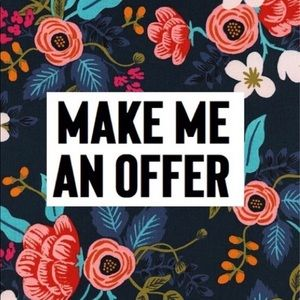 Open to offers just browse and bundle to save!
